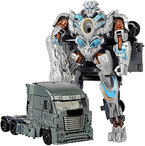 Robot modelo juguetes transformando 2 en 1 Transformer Toys Clase Voyager KO Figura de acción Robot SHOPED MIVE2 - Niños de 6 años y más, 7.5 pulgadas Regalos de cumpleaños para niños chicas
