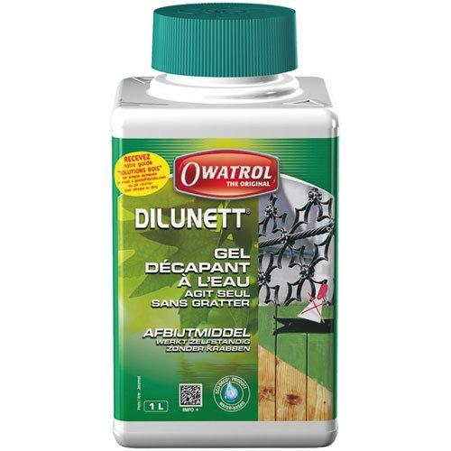 Owatrol Dilunett Entferner gélifie zu Wasser 1L