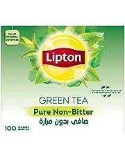 Lipton Green Tea Pure Non Bitter, 100 Bags