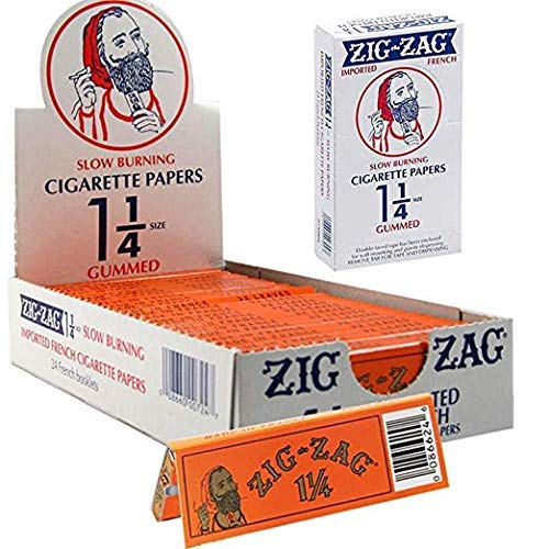 1 1/4 French Orange Rolling Papers