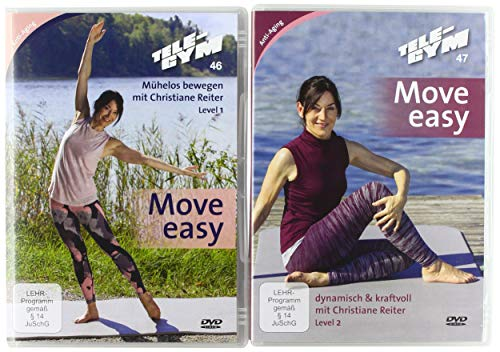TELE-GYM 46+47 Move easy 2-er Package Level 1+2 [2 DVDs]