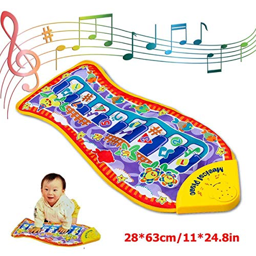 Fish Shape Musical Piano Mat Electronic Multi-Functionele Musical Mats Voor Kinderen Musical Speelgoed Voor Kinderen Kleine Meisjes Boys