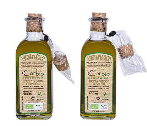 Corbío – Aceite de Oliva Virgen Extra Picual Ecológico.