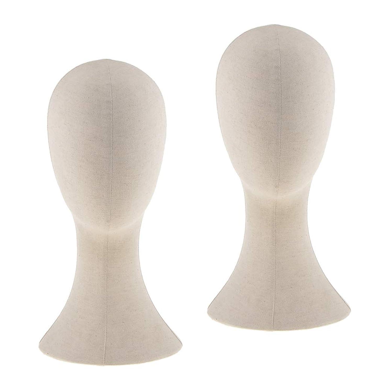 上院シンポジウムくぼみPerfeclan 2個入り マネキンヘッド トルソー 頭 カット練習 頭部 女性 ウィッグマネキン ウィッグスタンド
