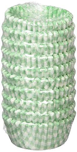 遠藤商事 業務用 オーブンケース チェック柄 9号深口 緑 紙 日本製 XOC0233