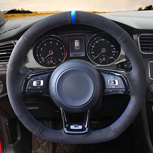 Funda Volante Coche Decoración del automóvil Cubierta del volante del automóvil Cubierta de la rueda automática Auto Volante 36-38cm Accesorios interior del automóvil Universal 1