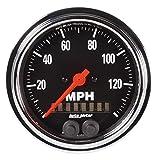 Auto Meter 2480 tradicional cromado 3 – 3/8 'GPS velocíme