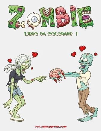 Zombie Libro Da Colorare: 1