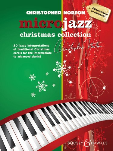 Microjazz Christmas Collection - 20 jazzy interpretations of traditional Christmas carols for the intermediate to advanced pianist --- Piano