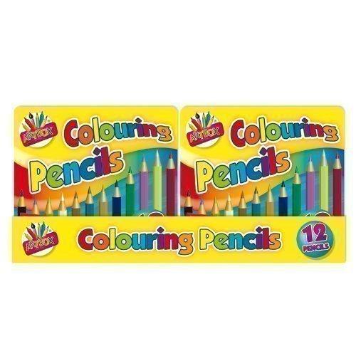 Boîte de mini crayons de couleur pour enfants (x12)