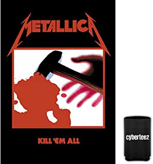 Cyberteez Metallica Kill Em All Tapestry Cloth Poster Flag Wall Banner + Coolie