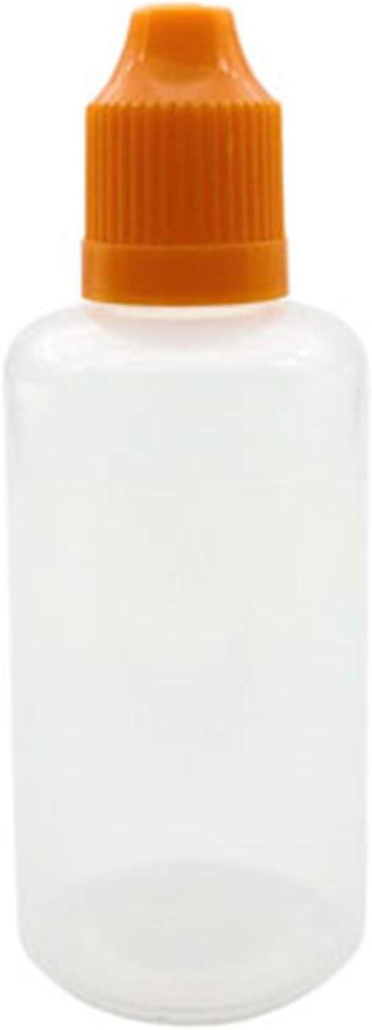 Recipiente de plástico para goteo 10 unids 3ml 5ml 10ml 15ml 20ml 30ml 50ml 100ml 120ml vacío plástico plástico botella exprimir el jugo eye e líquido gotero Vail con embudo Para un uso prolongado
