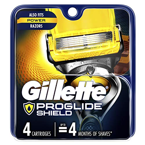 Gillette Fusion5 ProShield Men's Razor Blades, 4 Count (Packaging May Vary)