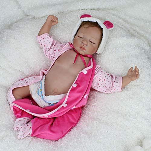 TERABITHIA 22 Zoll selten lebendig Sammlerstück schlafen wiedergeboren Babypuppen mit Silikon Vinyl Bauch Platte sehen echt aus