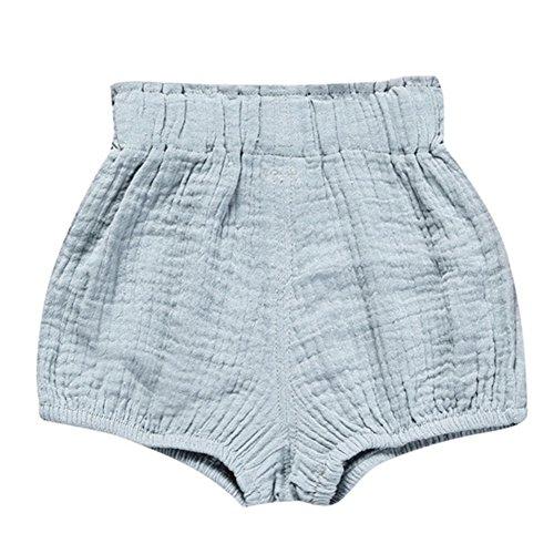 ESHOO ESHOO Baby Mädchen Jungen Bloomer Shorts lose Baumwolle Pluderhosen