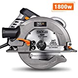 Circular Saw, TACKLIFE Upgraded Compact Circular Saw(1800W 4700RPM),...
