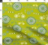 Streifen, Modern, Grafisch, Fahrrad Stoffe - Individuell