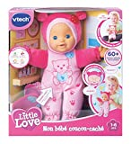 Vtech - 169405 - Poupon - Little Love - Mon Bébé Coucou-caché - Rose - Version FR