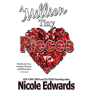 A Million Tiny Pieces audiobook cover art
