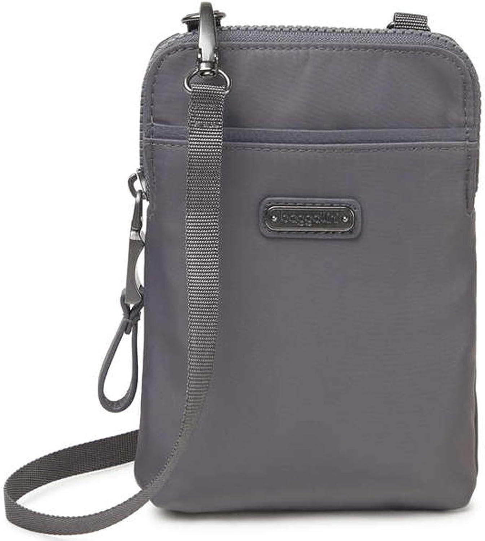 Baggallini Bryant RFID Wristlet Wallet Crosbody Bag w Key Chain