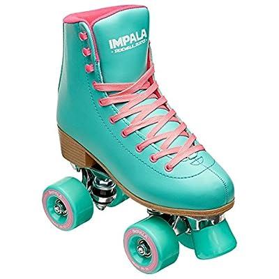 Impala Rollerskates Girl's Impala Quad Skate (Big Kid/Adult) Aqua 7 (US Men's 5, Women's 7)