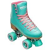 Impala Rollerskates Girl's Impala Quad Skate (Big Kid/Adult) Aqua 9 (US Men's 7, Women's 9)