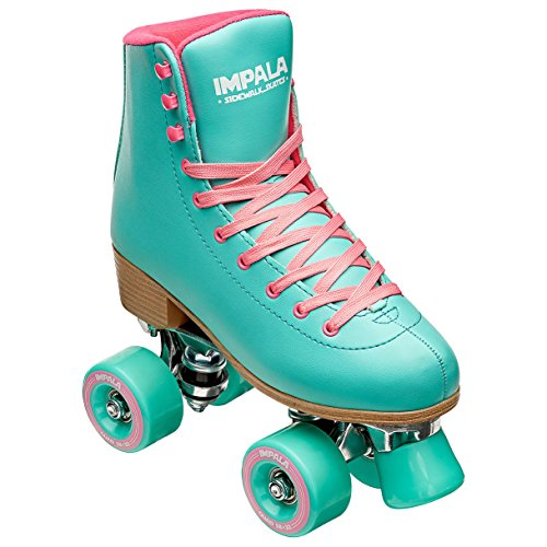 Impala Sidewalk Skates Rollerskates Quad Aqua US 8