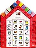Logo Lernhaus: Set 3 Schulstart 5-6-jährige Kinder (Logo Lernhaus: Mein Lernsteckspiel: Spielen - Lernen - Kontrollieren)