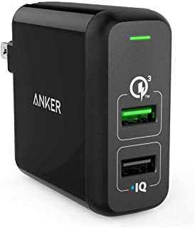 Anker PowerPort 2 31.5W Qualcom Quick Charge 3.0 Dual USB Wall Charger