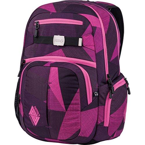 Nitro Hero Pack / großer trendiger Rucksack Tasche Backpack / 37 L  / mit gepolstertem...