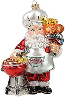 Barbecue Sauce Old World Christmas Glass Blown Ornament with S-Hook and Gift Box Condiments /& Sauces Collection