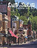 South Dakota Calendar 2021-2022: Mini Calendar 2021-2022 - 24 Months Calendar & Planner