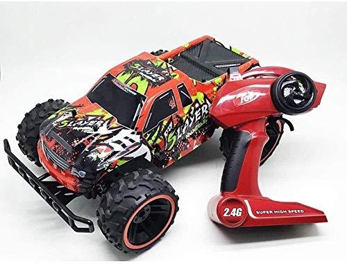 1:12 Escala inalámbrica de 2,4 GHz Buggy Camiones control remoto de coches 18 kmh de alta velocidad All Terrain Off-Road Vehicle 2.4Ghz Monster rastreadores carro, coche eléctrico de juguete for adult