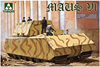 TAKOM 1/35 第二次世界大戦 ドイツ超重戦車 マウスV1 プラモデル TKO2049