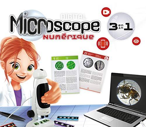 Buki France- Microscopio Video 3 en 1, Color (MR700) , color/modelo surtido