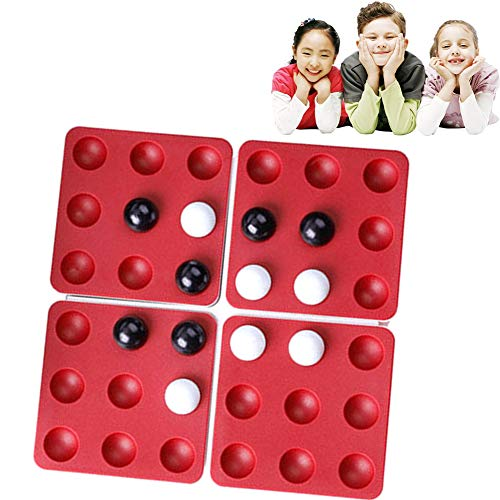 Ouken 1set Pentago Puzzle-Spiel-Kind-Spielzeug-Strategie-Brettspiel-pädagogisches Spielzeug Puzzle Spielzeug-Set für Kinder Erwachsene