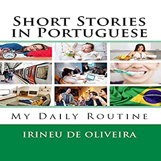 Short Stories in Portuguese audiobook cover art