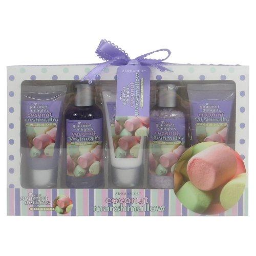 Gloss ! make up & accessoires sparkling bliss etoile de bain fleur blanc/musk 6 pièces, coffret cadeau-coffret de bain