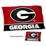 College Flags & Banners Co. University of Georgia Bulldogs G Logo Double Sided Flag