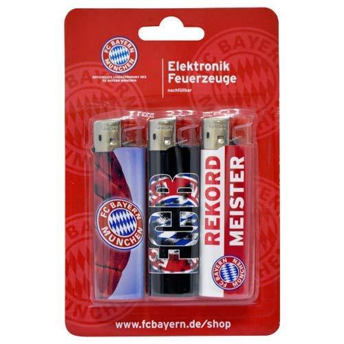 FC Bayern München Feuerzeug 3er-Set