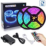 10M Tira LED RGB 5050, Tiray Ledy Flexible Multicolor 300 LEDs Strip Tiras LED de Luces LED Kit Completo para Hogar, Restaurante,...