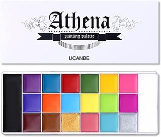 UCANBE Athena Face Body Paint Oil Palette, Professional...