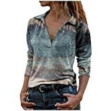 Shirts for Women Sexy AODONG Womens Short Sleeve Tops,Womens Cute Letters Printing Casual Valentine's Day Short Sleeves Blouses Tops
