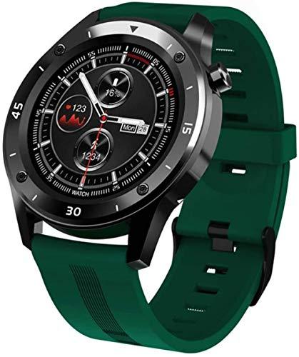 Reloj inteligente con rastreador de fitness integrado, GPS, modo multideporte, monitoreo de frecuencia cardíaca, para hombres y mujeres, relojes deportivos compatibles con Android e iOS