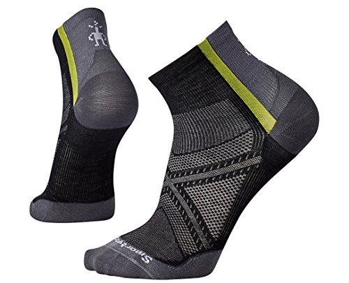SmartWool Men's PhD Cycle Ultra Light Mini Socks (Black) Large