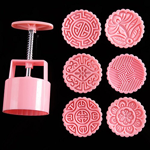 Oven baking supplies plastic mooncake mold,100g baking set baking and pastry tools mooncake mould, new baking tools for cakes Katoot