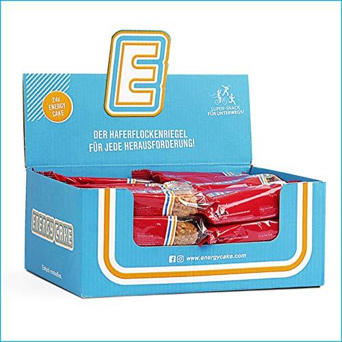 Energy Cake – Fitness Oat Snack Oatmeal Haferriegel – der Sattmacher & Energielieferant mit Protein aus der Haferflocke & tollem Geschmack – für Sportler & Hardgainer - Kirsch-Kokos 24x 125g (3kg)