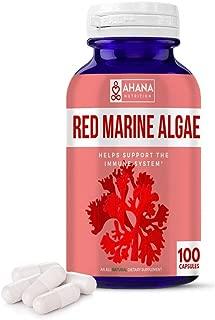 red mineral algae