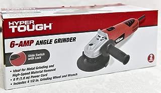 Hyper Tough AQ15013G 6.0A Angle Grinder W/Adjustable Guard
