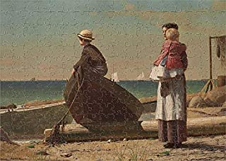 Media Storehouse 252 Piece Puzzle of Dad s Coming!, Winslow Homer (19117206)